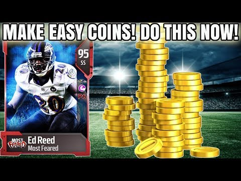 SAVE A TON OF COINS NOW! DO THIS ASAP! HOW TO MAKE COINS FROM SAVING! | MADDEN 18 COIN TIPS