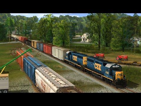 Trainz: Let's Build the Pennsylvania & Berwind Episode 4: Detailing Vonny