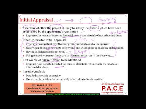 17 1 Introduction to Capital Project Appraisal