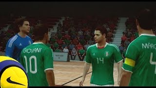 Fifa Street Gameplay en Xbox 360 - Mexico Vs Chile, Un amisto no tan amistoso