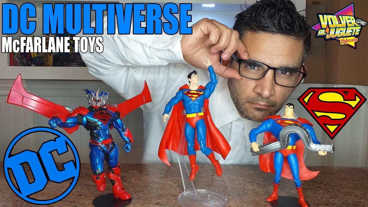 SUPERMAN DC MULTIVERSE MC FARLANE TOYS