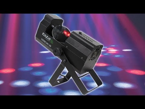 IBIZA LEDSCAN20 LED Scanning Head Disco Light DJ Party Stage Professional Karaoke