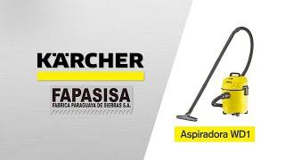Aspiradora línea hogar WD 1 - Kärcher FAPASISA Paraguay
