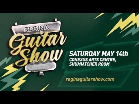 Regina Guitar Show, Saturday May 14 2016, Conexus Arts Centre
