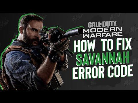 Call of Duty: Modern Warfare - How to Fix the Savannah Error Code