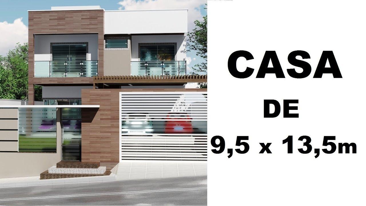 Projeto casa de dois andares maquete 3d sketchup for Casa moderna 2 andares 3 quartos