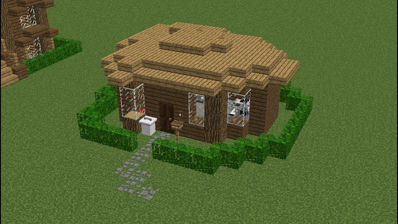 постройка домов для новичков в майнкрафте #4