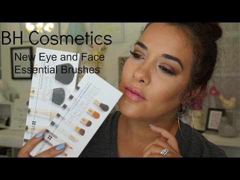 New BH Cosmetics Face and Eye Essential Brush Sets | Unboxing Video