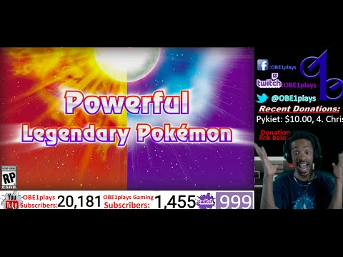 LIVE REACTION! POKEMON SUN & MOON LEGENDARIES & MOVES!!!!!