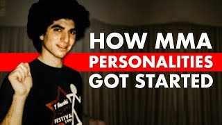 How 10 MMA Personalities Got Their Start