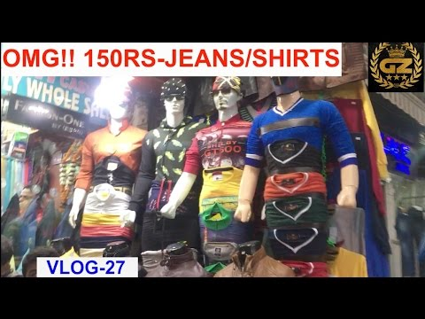 CHEAPEST BOYS SHOPPING MARKET | TANK ROAD | DELHI | part-2