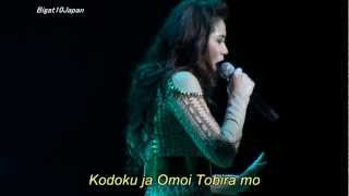 "Sarah G. - ""Story (Japanese song) :Lyrics"" @Japan Concert 2012-09-23"