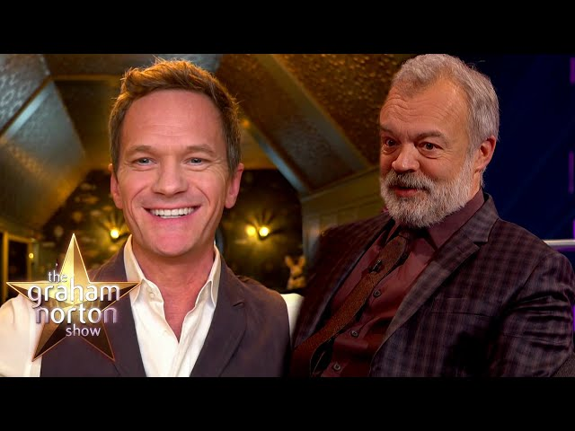 Neil Patrick Harris Made Out With Graham Norton! | The Graham Norton Show