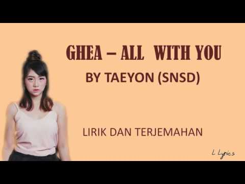 GHEA INDRAWARI - ALL WITH YOU - LIRIK DAN TERJEMAHAN [KPOP COVER]