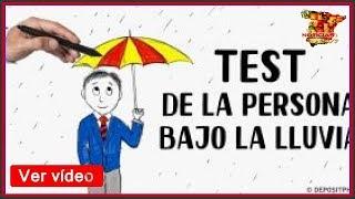 La lluvia pdf persona bajo test