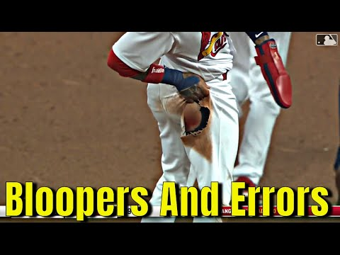 MLB \\ Bloopers And Errors September 2021