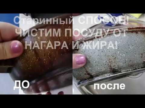 КАК очистить сковороду от НАГАРА?!20 минут и СКОВОРОДЫ БЛЕСТЯТ как новые!!!helen marynina