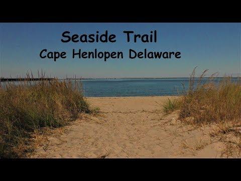 Seaside Trail & Fishing Pier ~ Cape Henlopen Delaware