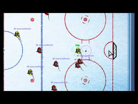 Return to Center - Create a Hockey Game AI Using Steering Behaviors