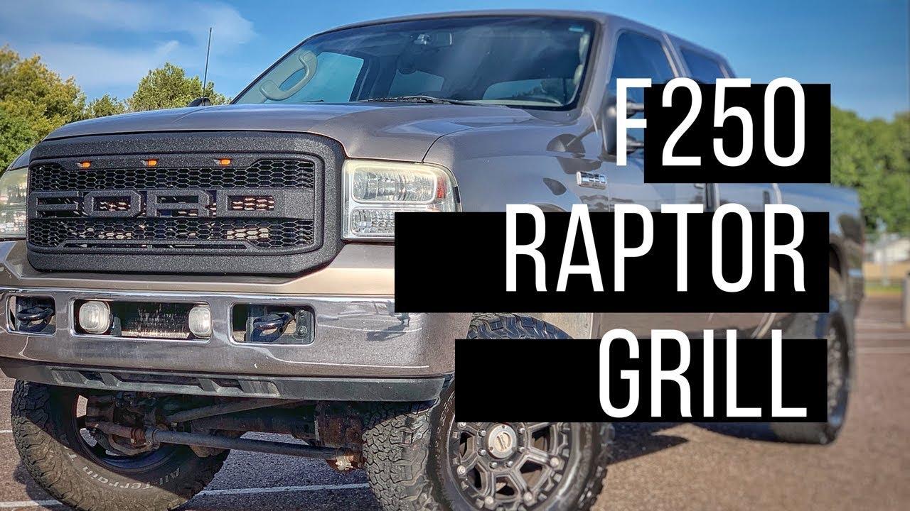 Raptor Grille Diy F R F250 Youtube