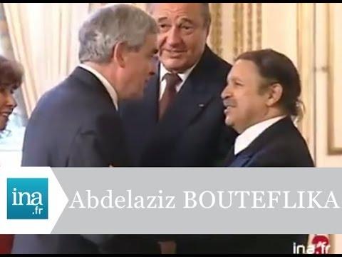 Abdelaziz Bouteflika reçu à l'Elysée - Archive INA