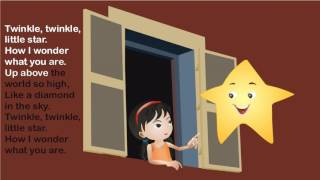 Twinkle Twinkle  Little Star Kids Nursery Rhyme New