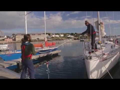 Arriver au ponton - Mini-tuto croisière Les Glénans