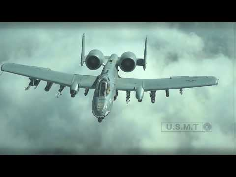 Incredible Video Of A-10 Warthog In Action / Firing The Dreaded GAU 8 Gatling Gun