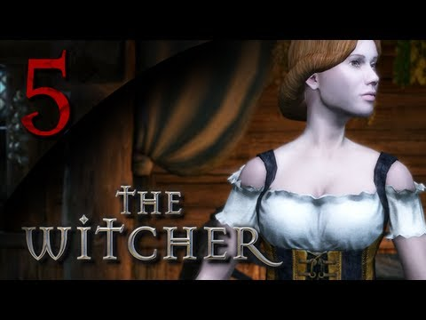 Mr. Odd - Let's Play The Witcher - Part 5 - Seeking Out The Reverend