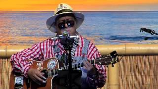 """The Golden Stallion"" @SlackKeyShow Dennis Kamakahi at the Slack Key show"