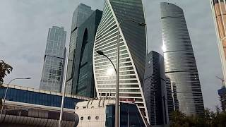 Обзор Москва-Сити и окрестностей с набережной