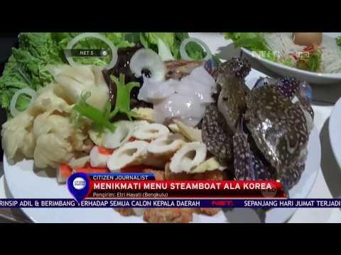 Menikmati Menu BBQ Steamboat Bengkulu - NET 5