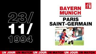 Bayern Munich - PSG, 23 novembre 1994 : George Weah inoubliable - Un jour, un match ! #21
