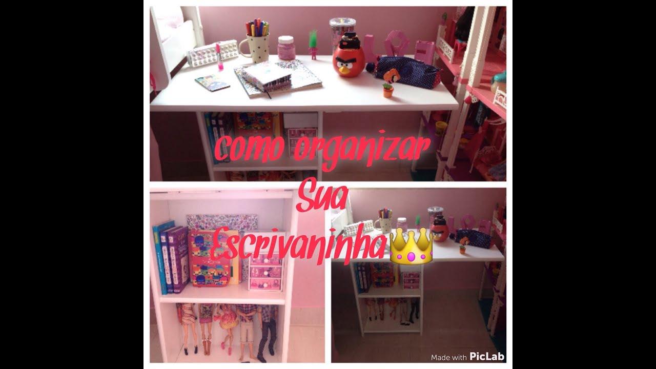 Como organizar sua escrivaninha ️   #BE0D27 1280x1280