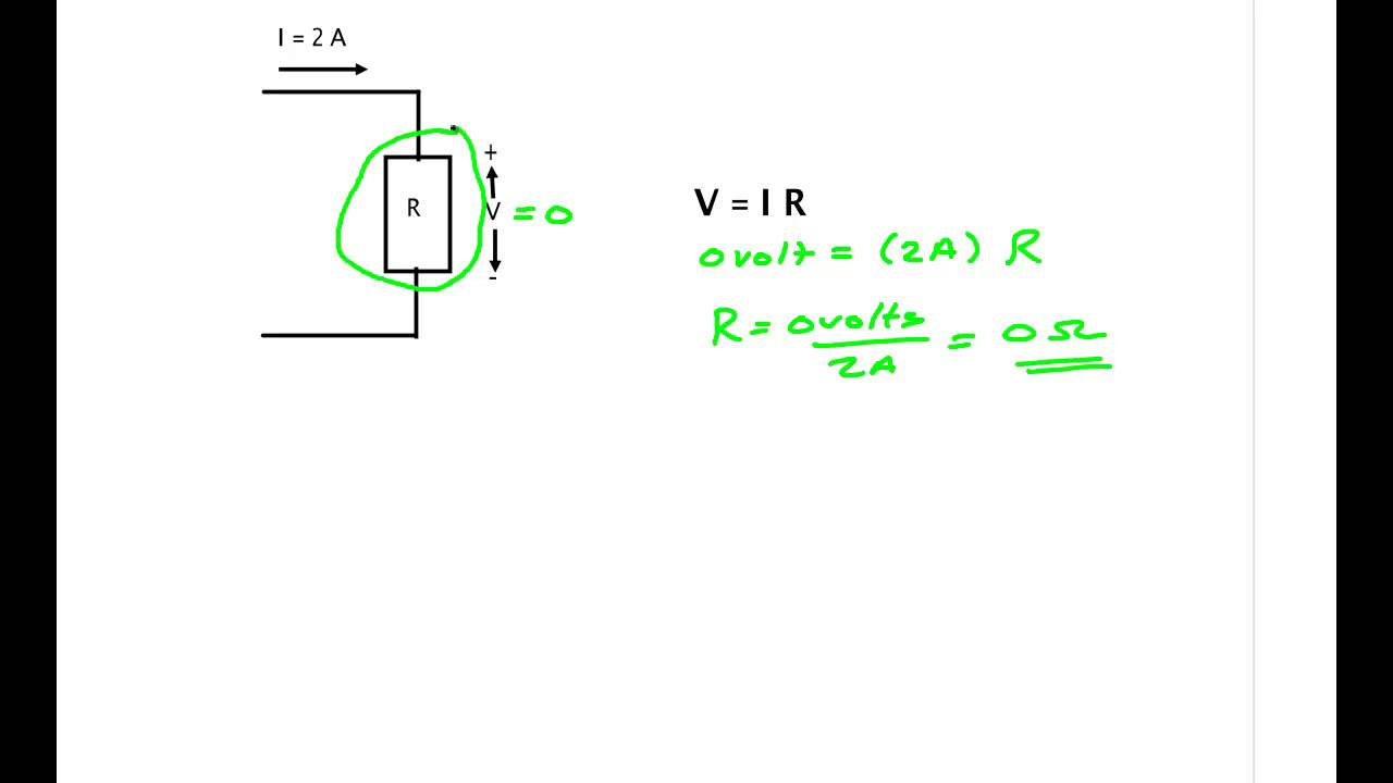 Short Circuit And Open Youtube Solve Elec Electrical Circuits Analysis Resolution