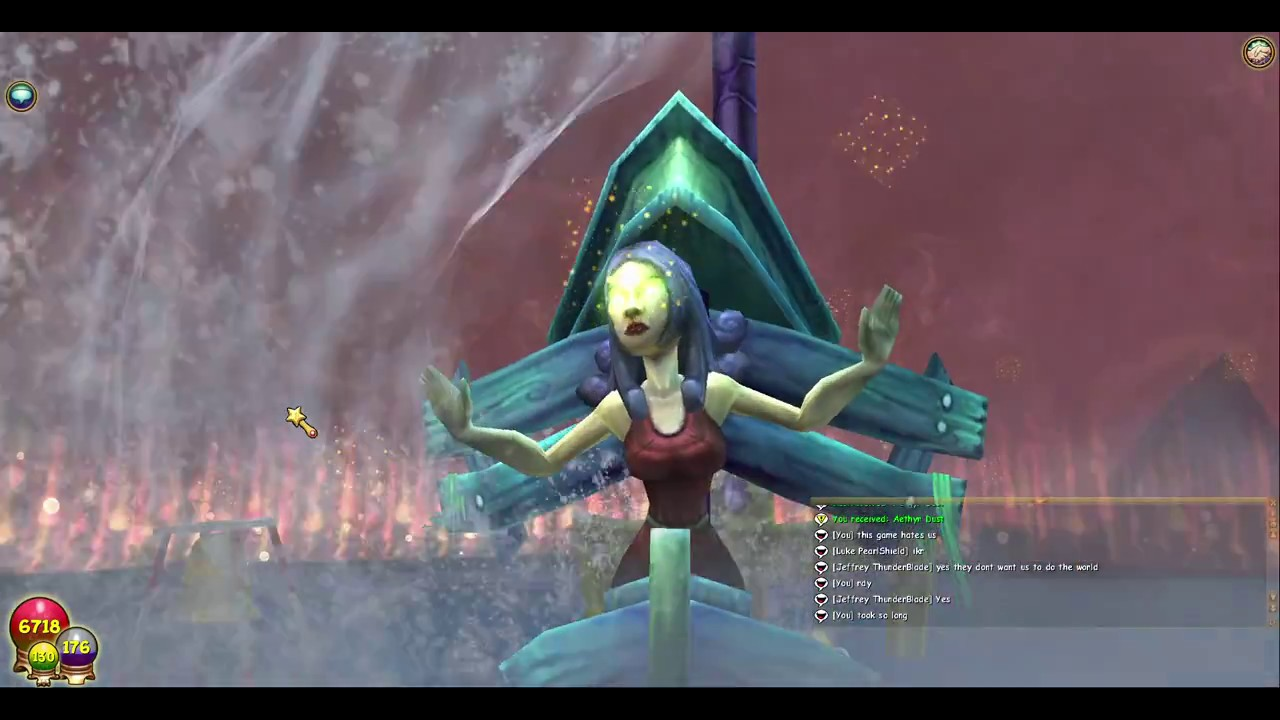 Wizard101 storm titan run in 9 min