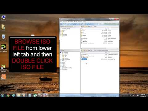 Make windows 7 bootable DVD/USB via ULTRA ISO