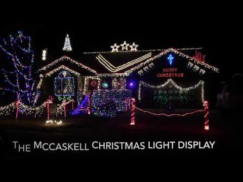 Gemmy Christmas light show