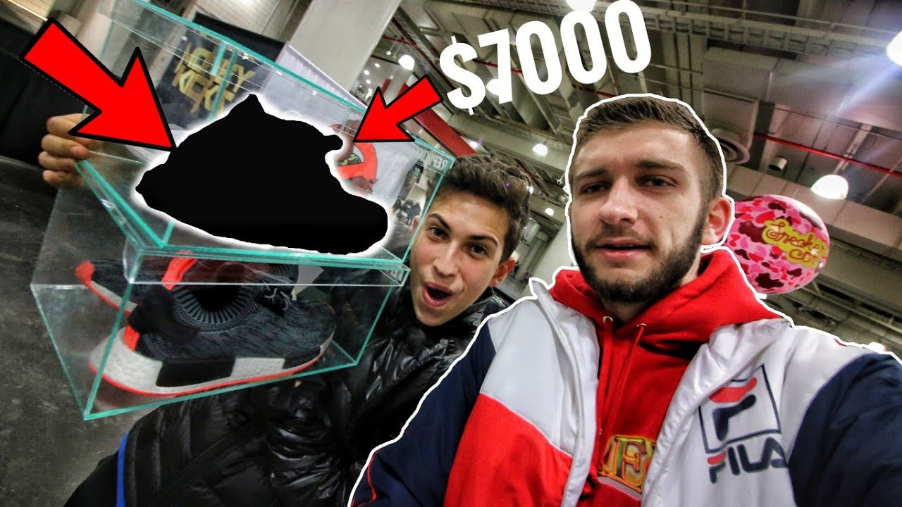 409416bd4e730 I FOUND the RAREST SNEAKERS EVER at SNEAKERCON!  7
