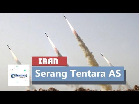 Hujan Rudal Iran Di Pangkalan Militer AS