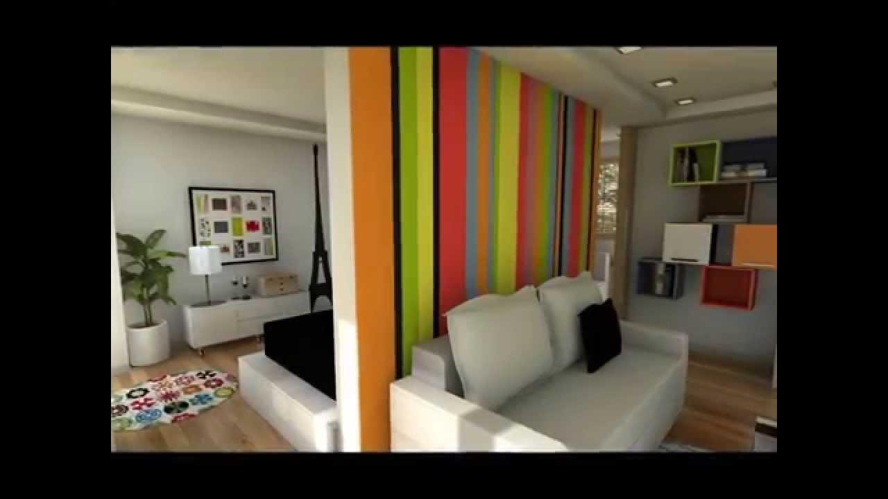 Apartamento 28m2 youtube for Apartamentos de 30 metros cuadrados