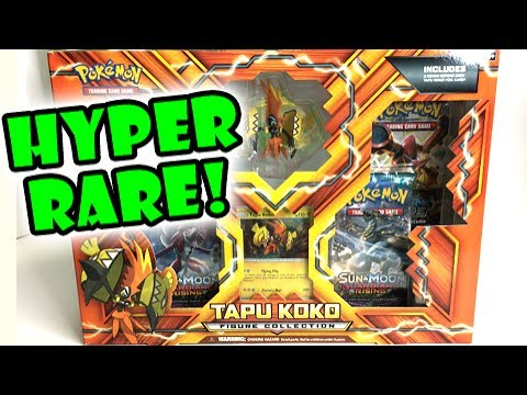 HYPER RARE PULL! - Opening a TAPU KOKO GUARDIANS RISING TCG POKEMON BOX!