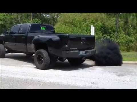 JH Diesel's Blacknasty Duramax dually
