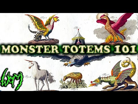 Introduction to Mythical Creature/MONSTER TOTEMS (Animal Totems and Spirit Guides)