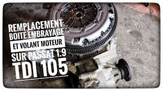 TUTO#6 REMPLACEMENT BOITE ET EMBRAYAGE SUR PASSAT 1.9 TDI 105