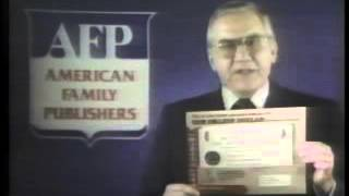 American Family Publishers sweepstakes with Ed McMahon (1983)