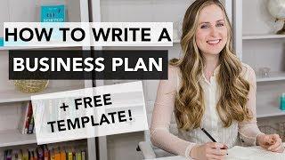 How To Write A Business Plan - Entrepreneurship 101