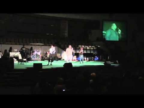 Eddie Jame sings Psalm 23 at Calvary Christian Center - Sacramento, CA