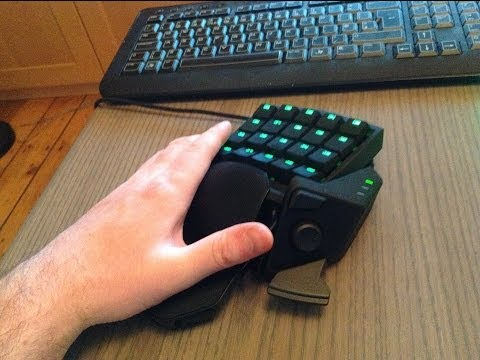 STEALTH EDITION - Razer Orbweaver - Mechanical Gaming Keypad - Silent Keys - YouTube