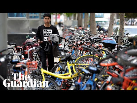 Peak bike: are China's dockless cycles becoming a public nuisance?